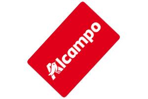 Tarjeta regalo Alcampo