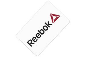 Tarjeta regalo Reebok