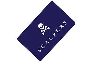 Tarjeta regalo Scalpers