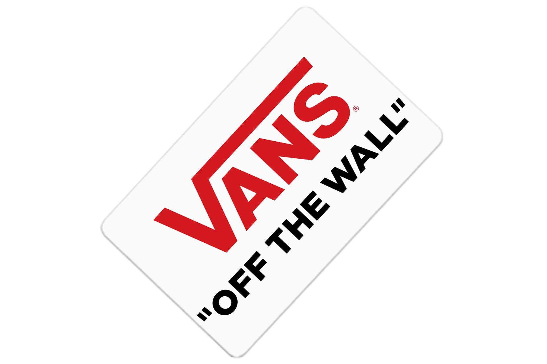 Tarjeta regalo Vans -off the wall-