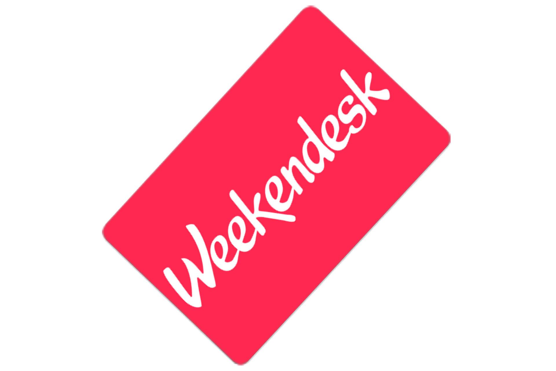 Tarjeta regalo Weekendesk