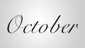 Tarjeta regalo de October