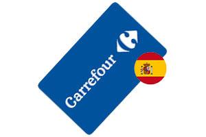 Tarjeta regalo Carrefour