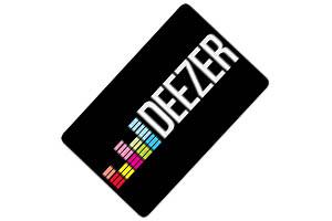 Tarjeta regalo Deezer