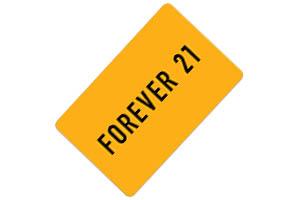 Tarjeta regalo Forever 21