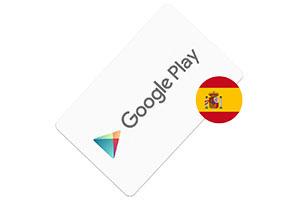 Tarjeta regalo Google Play