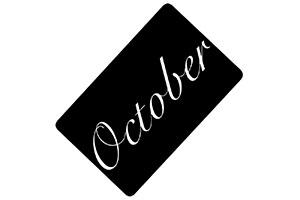 Tarjeta regalo October