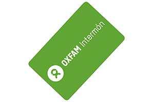 Tarjeta regalo OXFAM Intermon