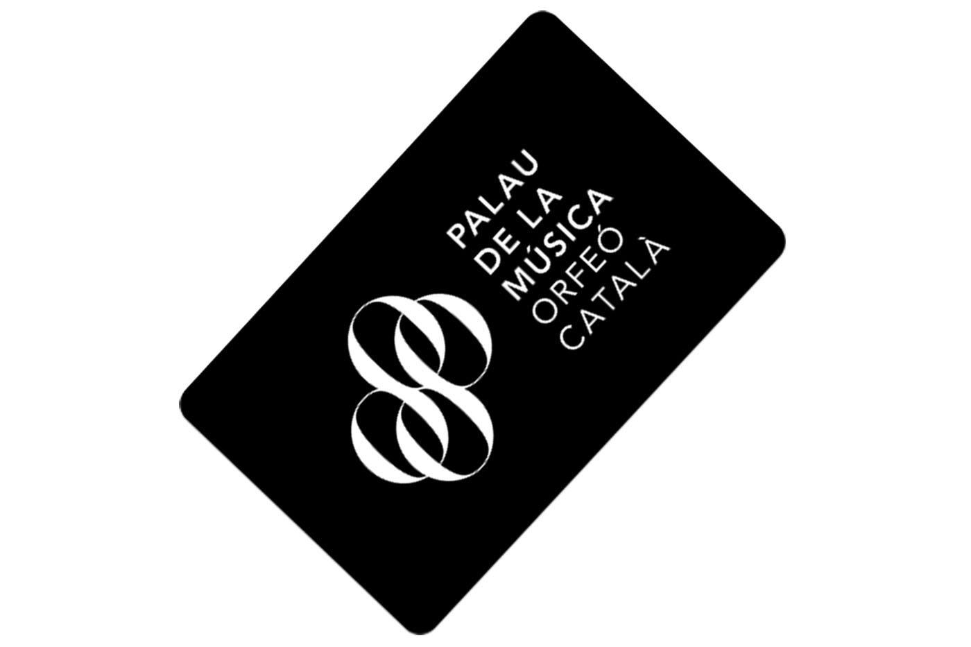 Tarjeta regalo Palau de la Musica Barcelona
