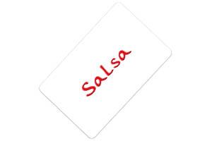 Tarjeta regalo Salsa
