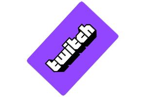 Tarjeta regalo Twitch
